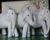 Custom order for Jan.  Elephants