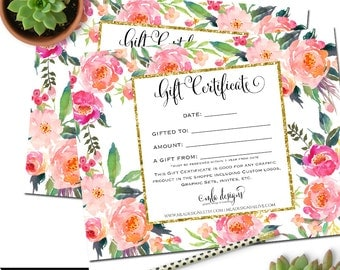 Gift Certificate for MLA Designs - Gift Certificate for any Graphic or Custom Design, Give the Gift of Branding!