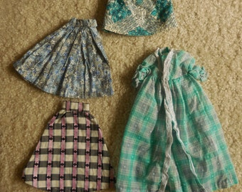 Four Piece Vintage Barbie Clothes