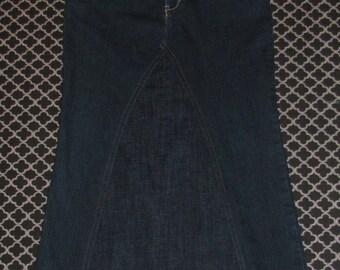 Girls Jean skirt size 14