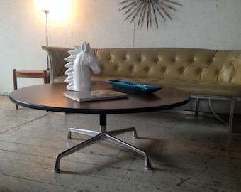 """WEEKEND SALE! Vintage Herman Miller Eames Coffee Table , 42"""" Round Mid Century Modern Coffee Table"""