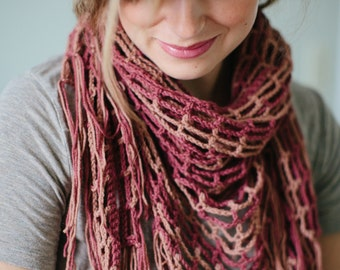 Chai Shawl crochet pattern