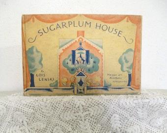 Sugarplum House, Lois Lenski, rare edition, 1935, Harper & Brothers, a very rare book indeed