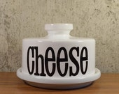 Vintage Cheese Dome TG Green Spectrum England