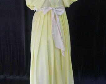 Regency Tea Gown, Size 6