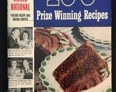 Vintage Pillsbury Cookbook - 100 Prize Winning Recipes - 3rd Grand National - Soft Cover