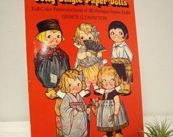 Dolly Dingle Paper Dolls Grace Drayton Dover Book 1917 Magazine Dolls