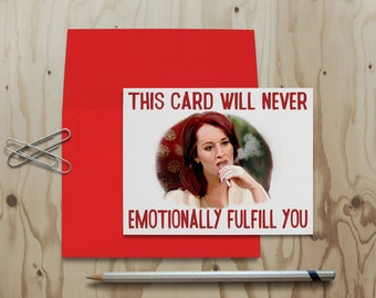 Real Housewives of Beverly Hills Allison Dubois Card RHOBH Greeting Card