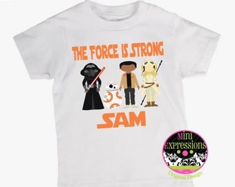 Star Wars Inspired shirt Personalized