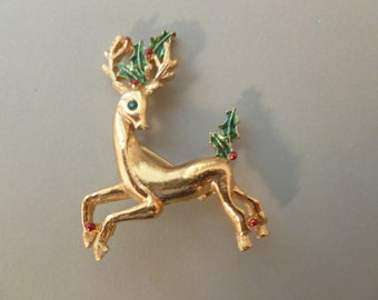 Reindeer Brooch/Pin