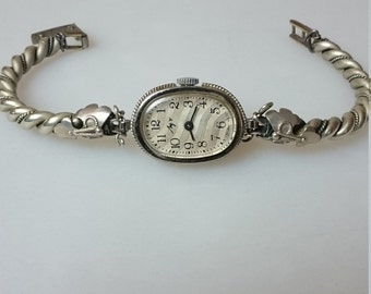 Vintage Ladies watch Luch from Belarus RARE from Soviet Union era ladies wristwatch