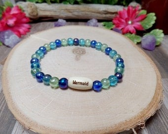 Mermaid Bracelet - Mermaid Stretch Bracelet