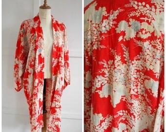 1920s print kimono