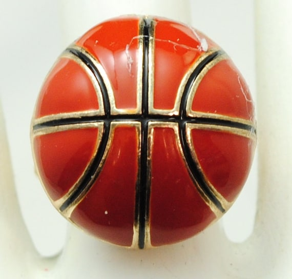 basketball ring sports jewelry unisex ring gift statement