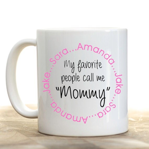 Personalized Coffee Mug Personalized Mommy Mug Coffee