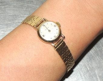 vintage Longines watch - 1950s gold/diamond Longines ladies' watch