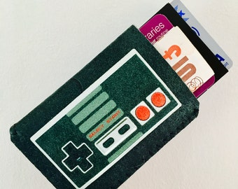 Business Card Case - Retro Video Game Controller - Oyster Card Holder - Travel Card Holder - Business Card Holder