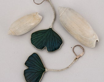 Dangle earrings - Ginkgo leaves