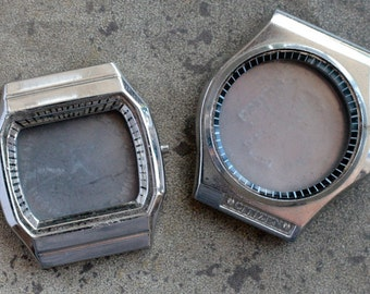 Mens Wrist Watch Cases -- set of 2 -- D15
