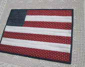 Patriotic Americana Quilted Wall Hanging