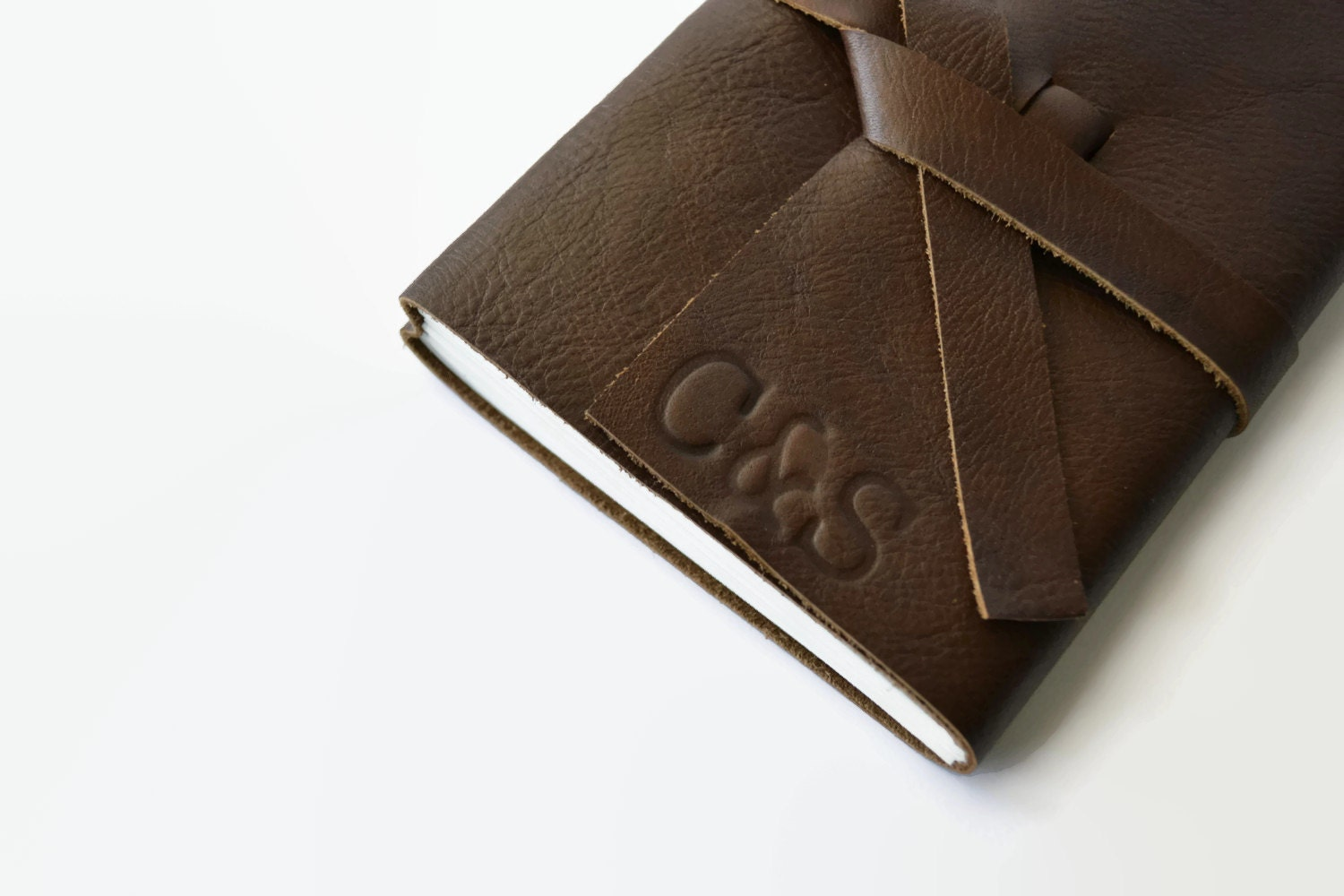 Leather Wedding Anniversary Gifts For Her: Personalized Anniversary Gift Leather Journal Leather