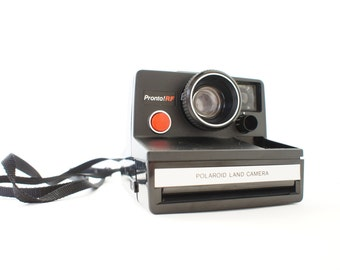 Black Polaroid Camera Pronto! RF SX-70 - Film Tested Working