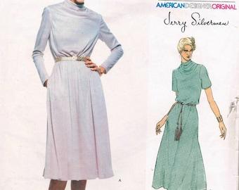 Vintage Vogue Jerry Silverman Pattern 1817 - Misses'Dress