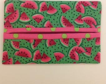 Watermelon Fabric Tissue Holder FREE SHIPPING