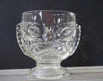 Glass Tiki Mug
