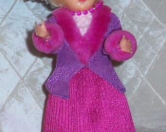 Vintage Doll, Sleepy Eyes, 1950s, Hard Plastic, C5