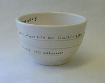 Mercury Porcelain Bowl