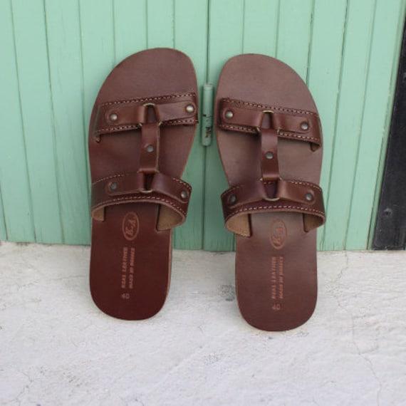 Leather sandals -greek sandals-sandales grecques
