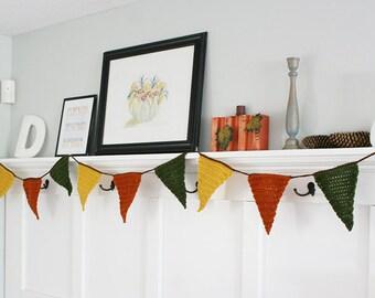 Fall bunting, autumn banner, fall banner, fall decor, fall decorations, autumn bunting, fall home decor, autumn home decor
