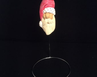 Santa No-See-Um Ornament