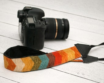 DSLR Camera Strap - Camera Straps - Camera Accessories - Padded Camera Strap - Canon Strap - Nikon Strap -  Photographer Gift - Tallulah