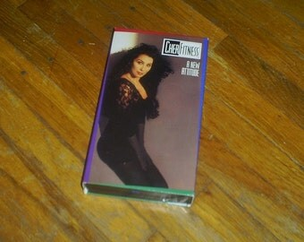 CHER FITNESS A New Attitude VHS video cassette tape 1991