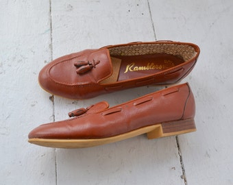 1960s Ramblers Loafers, Size 6 1/2