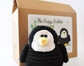 Crochet Penguin Kit, Amigurumi Kit, DIY Crochet Kit, Learn to Crochet, DIY Craft