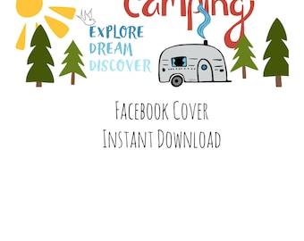 Halloween Camping Facebook Cover