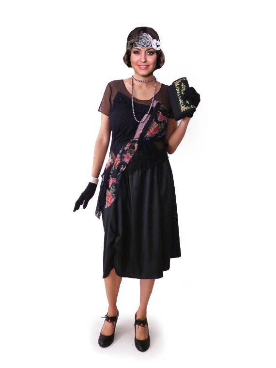 Modern 1920s Dress Great Gatsby Dress Flapper Dress Flapper