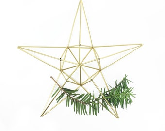 LARGE STAR  air planter/ tree topper