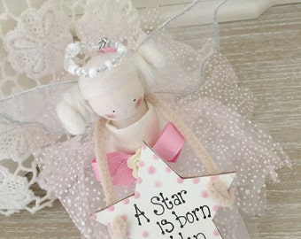 Christening, New Baby Girl, Personalised Gift