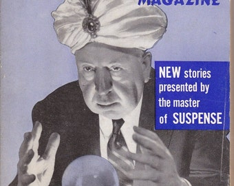 Master of Suspense- 1960s Vintage Alfred Hitchcock's Mystery Magazine- November 1960- Crime Stories- Thriller- Paper Ephemera