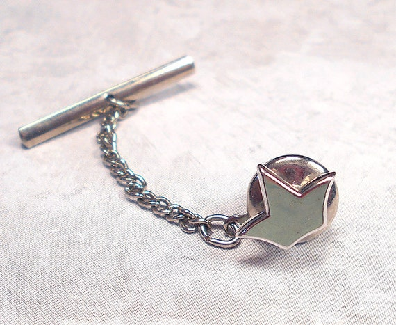 Vintage tie tack tie jewelry swank tie tack swank by for What is swank jewelry