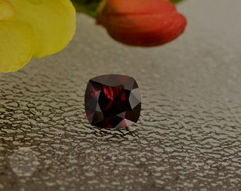 Red Spinel Cushion Shape 11 MM Loose Gemstone for Engagement Ring
