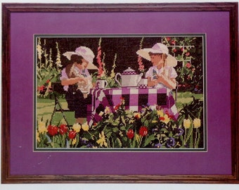 Cross Stitch Pattern AFTERNOON TEA PARTY By Holbert