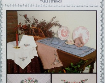 Cross Stitch Pattern TABLE SETTINGS Pat Rogers' Counted Collection