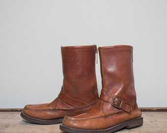 7 B | Men's Vintage Orvis Hunting Boot Bird Shooter Boot with Talon Zippers