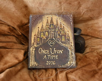 Once Upon a Time wedding, Fairy tale wedding guest book, Once Upon a Time guest book, fairy tale wedding guest book, Castle guest book
