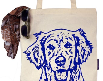 Ginny the Golden Retriever - Eco-Friendly Tote Bag